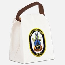 USS IWO JIMA Canvas Lunch Bag