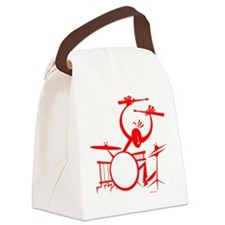 Drummer Canvas Lunch Bag