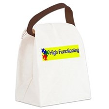 High Functioning Autistic Canvas Lunch Bag