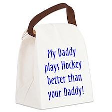 Unique Childrens hockey Canvas Lunch Bag