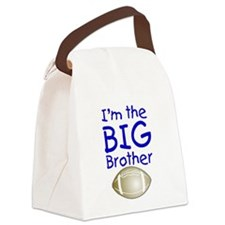 I'm the Big Brother (football) Canvas Lunch Bag