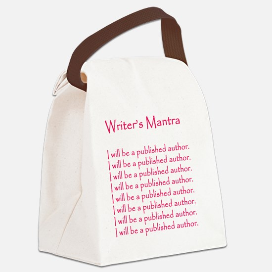 Romance Writers Canvas Lunch Bag