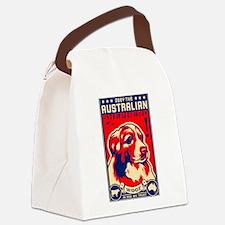 Obey the Australian Shepherd! Canvas Lunch Bag