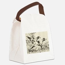 smittyts.com ENGLISH SETTER A Canvas Lunch Bag
