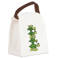 Turtle Stack Canvas Lunch Bag