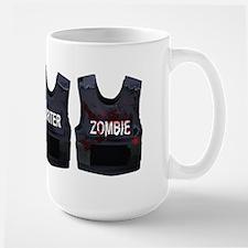 Police, writer, zombie Mug