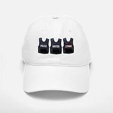 Police, writer, zombie Baseball Baseball Cap