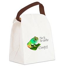 Cute Borinquen Canvas Lunch Bag
