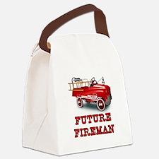 Future Fireman, Canvas Lunch Bag