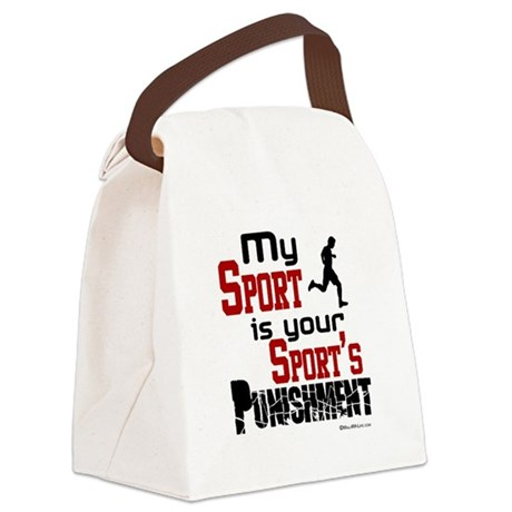 My Sport Canvas Lunch Bag