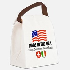Swiss Italian Parts Canvas Lunch Bag