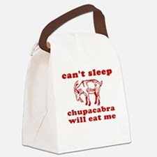 Chupacabra Canvas Lunch Bag