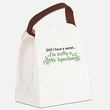 Shh! I have a secret... Canvas Lunch Bag
