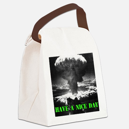 Cute Wwii vintage Canvas Lunch Bag