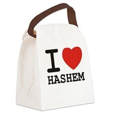 I Heart Hashem Canvas Lunch Bag