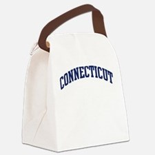 Blue Classic Connecticut Canvas Lunch Bag