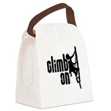 Climb On Canvas Lunch Bag