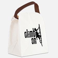 Climb On Canvas Lunch Bag