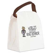 World's Cutest Ringbearer Canvas Lunch Bag