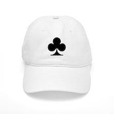 Clubs Playing Card Symbol Cap