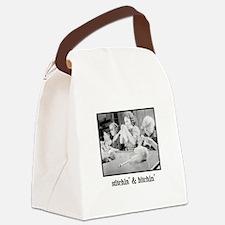 Stitchin' & Bitchin' Canvas Lunch Bag