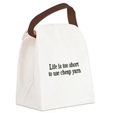 Cheap Yarn Canvas Lunch Bag