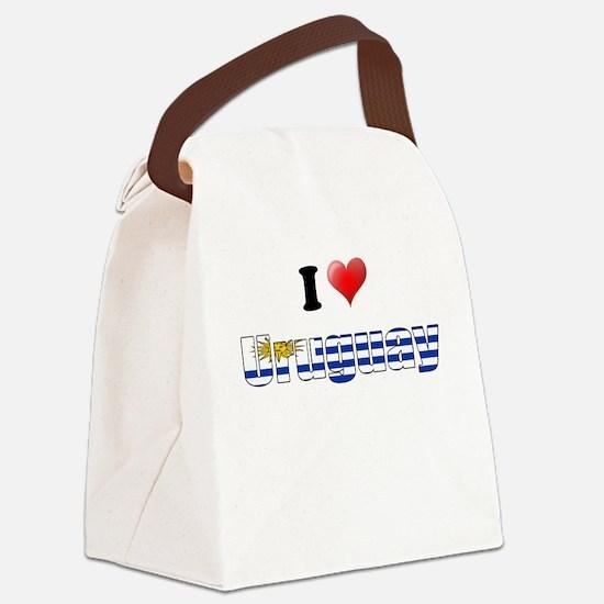 I love Uruguay Canvas Lunch Bag
