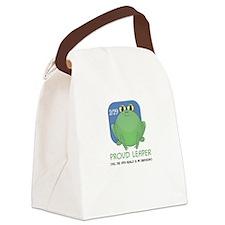 Proud Leaper Canvas Lunch Bag