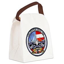 USS GEORGIA Canvas Lunch Bag