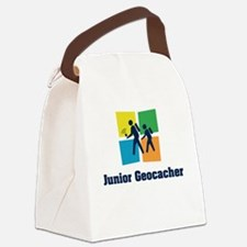 Junior Geocacher Canvas Lunch Bag