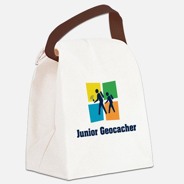 Junior Geocacher Canvas Lunch Bag