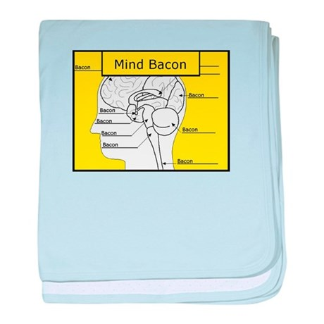 Mind Bacon baby blanket