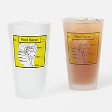 Mind Bacon Drinking Glass