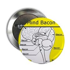 """Mind Bacon 2.25"""" Button"""
