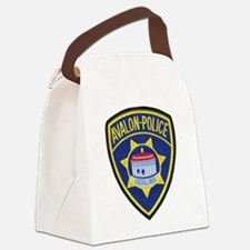 Avalon Catalina Police Canvas Lunch Bag