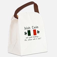 Irish Twin-Good Looking Canvas Lunch Bag