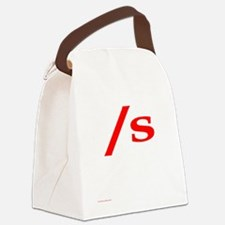 submissive symbol Canvas Lunch Bag