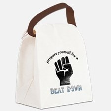 Beat-Down Canvas Lunch Bag