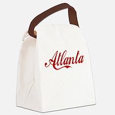 ATLANTA SCRIPT Canvas Lunch Bag
