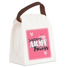 Daddy's Army Princess Canvas Lunch Bag
