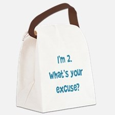 I'm 2 Canvas Lunch Bag