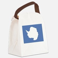 Antarctic flag (Antarctica) Canvas Lunch Bag