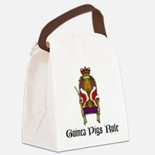 Guinea Pigs Rule Canvas Lunch Bag