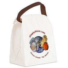 Classic Simplydiscus Logo Canvas Lunch Bag