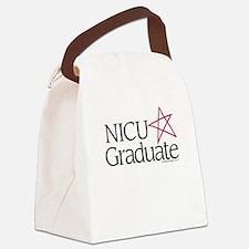 NICU Graduate (Star) - Canvas Lunch Bag