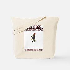 Cute Women emt Tote Bag