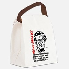 Cute Terrorism Canvas Lunch Bag
