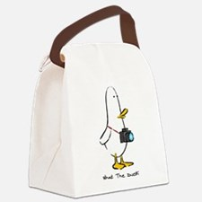 What the Duck: 1 of 4 Charact Canvas Lunch Bag