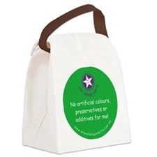 No Artificials Canvas Lunch Bag