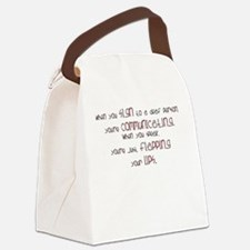 Unique Asl teacher Canvas Lunch Bag